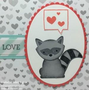 Foxy Friends Baby Love detail