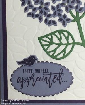 Purple Pearl Hydrangea Detail