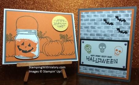 Ann & Susan Halloween Swaps