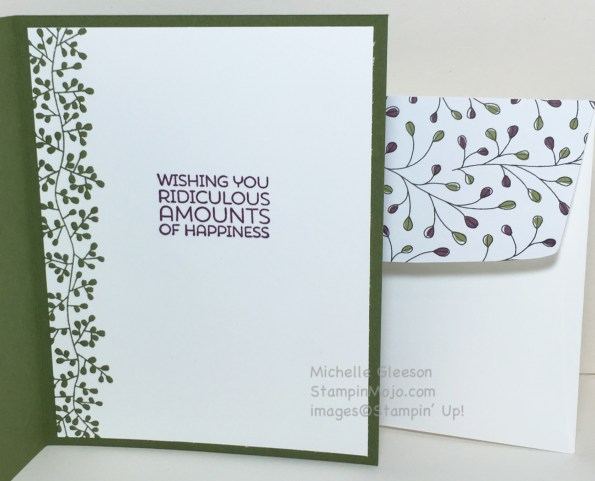 Sentiment for 50th Birthday card, StampinMojo