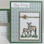 In the Meadow Masculine Birthday Card