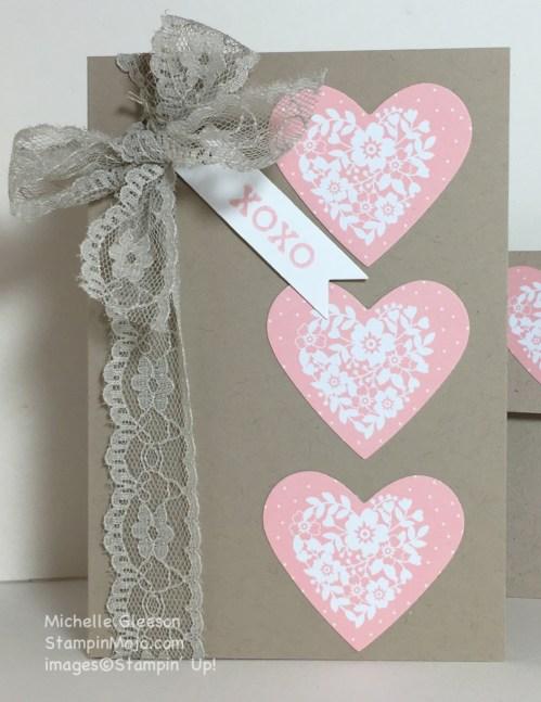 StampinMojo, Quick & Easy Valentine, Love Blossoms DSP