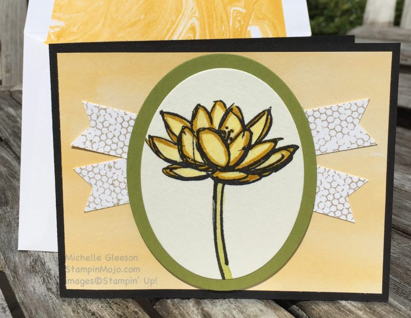 StampinMojo, Michelle Gleeson, Remarkable You, FMS223, Wink of Stella Watercoloring