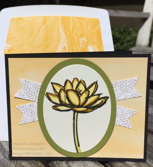 StampinMojo, Michelle Gleeson, Remarkable You, FMS223, watercoloring