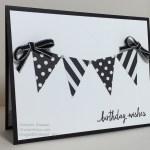 Black and White Birthday Wishes