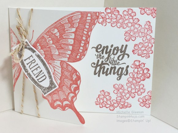 Swallowtail, Embossing, StampinMojo, Awesomely Artistic