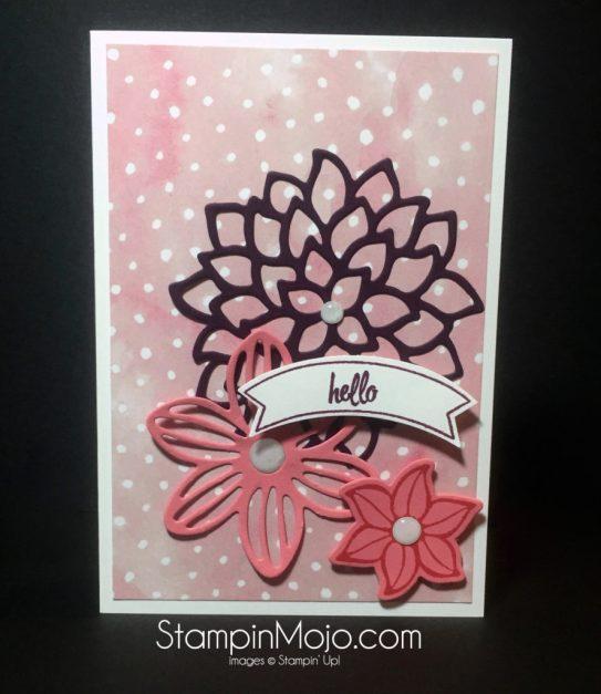 SU, May Flowers, Friendship, Michelle Gleeson Stampinup