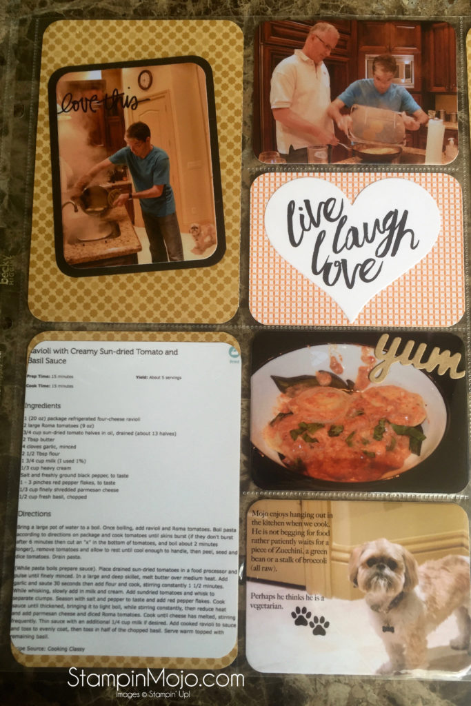 SU, Project Life, Memory Making Monday, Layering Love, Michelle Gleeson, stampinup
