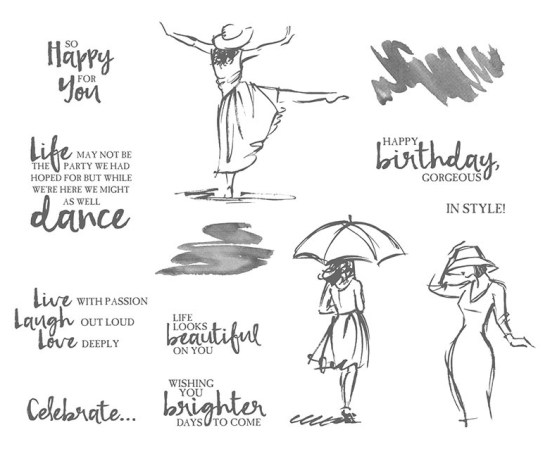 Beautiful You Stamp Set images©Stampin' Up!