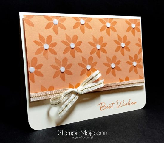 Stampin Up Blooms & Wishes Birthday Card Michelle Gleeson Stampinup SU