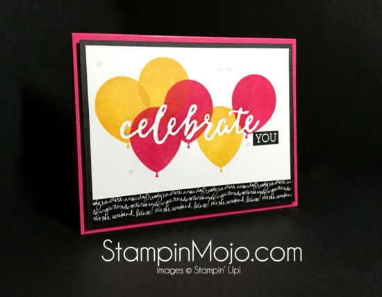 Stampin Up Balloon Adventures Celebrations Duo Michelle Gleeson Stampinup