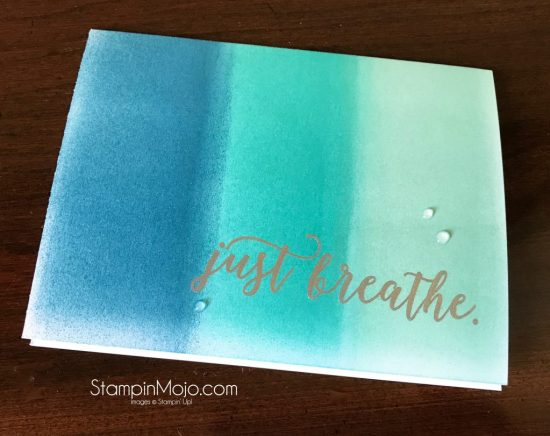 Stampin Up Colorful Seasons Just Because cards Michelle Gleeson Stampinup SU