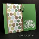 Masculine Birthday Card for Tic Tac Toe Challenge #001