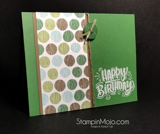 Stampin Up TTTC001 Coffee Break DSP Celebrate You Masculine Birthday card.Michelle Gleeson Stampinup SU