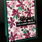 Happy Wishes Birthday Card