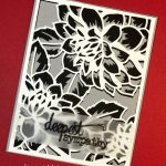 Floral Cover Die for TTTC012