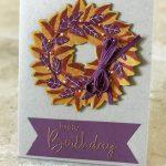Magnolia Wreath Birthday Greetings