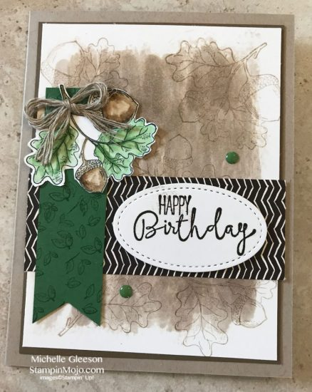 Stampin Up Count My Blessings Painted Autumn DSP Special Celebrations Birthday Card ideas Michelle Gleeson Stampinup.jpg