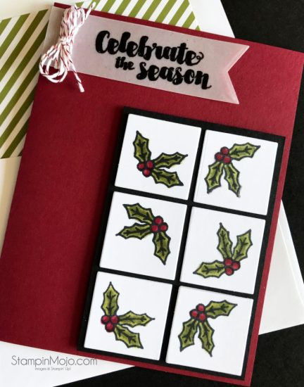 Stampin Up Tags & Trimmings Concord & 9th Ornamental Stamp GDP#114 Michelle Gleeson Stampinmojo