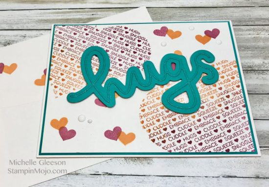 C9 Cuddles and Hugs Love card ideas Michelle Gleeson GDP121