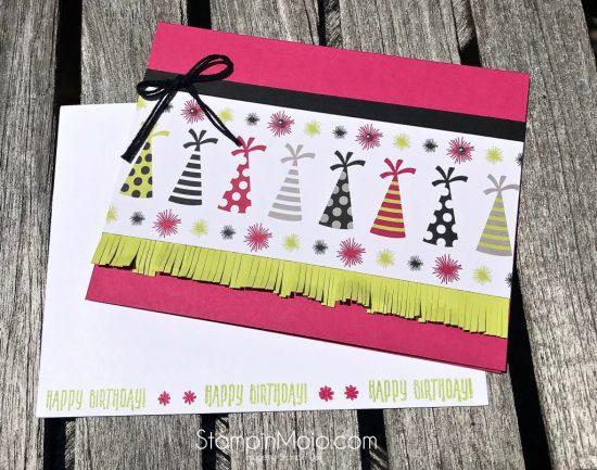 Stampin Up Broadway Bound DSP Birthday card ideas Picture Perfect Birthday Michelle Gleeson Stampinup SU
