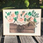 A Country Crate of Blooms