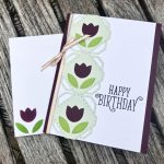 Tulip Birthday Card