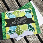 Tropical Chic Birthday Greetings