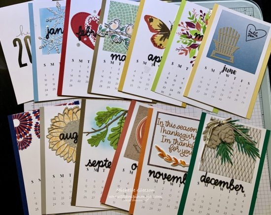 Concord & 9th 2021 Calendar Cards Michelle Gleeson Monthly Calendar Ideas