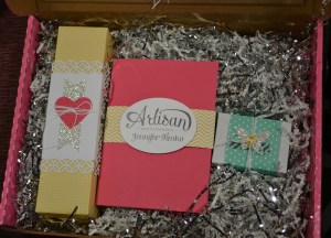 Artisan box inside