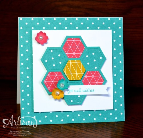 AWW Feb - Hexagon Flower
