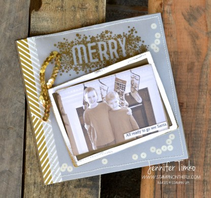 Seasonally Scattered - Merry Scrapbook