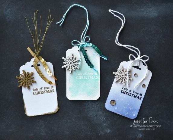 FF Dec - Snowflake Tags