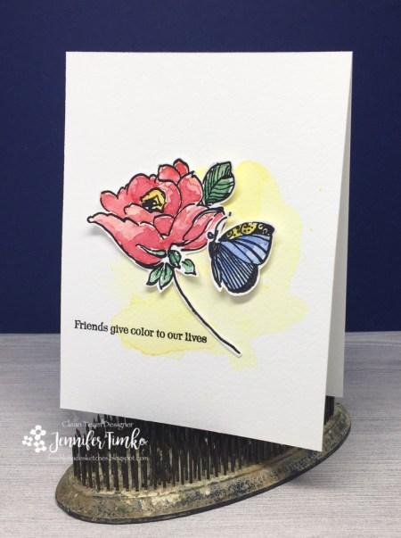 FMS280 by Jen Timko | Botanical Garden Stamp Set by Altenew, Healing Wings by Skipping Stones Design