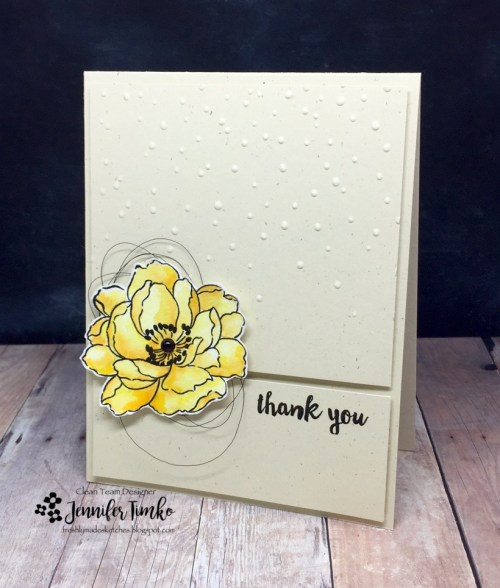 FMS288 by Jen Timko | Beautiful Day Stamp by Altenew, sentiment from Paper Pumpkin by Stampin' Up, Zig Clean Color Markers, Watercolor