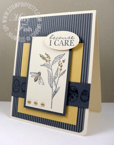 Stampin up nature walk sympathy card pals paper arts