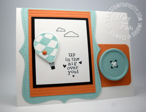 Stampin up rubber stamps up up away balloon simply scored top note die big shot