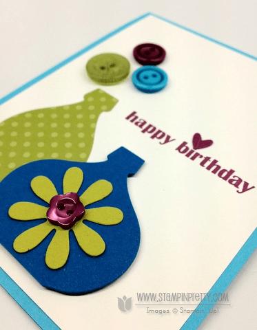 Stampin up stampinup stamp it card idea framelits dies holiday catalog demonstrator blossom party