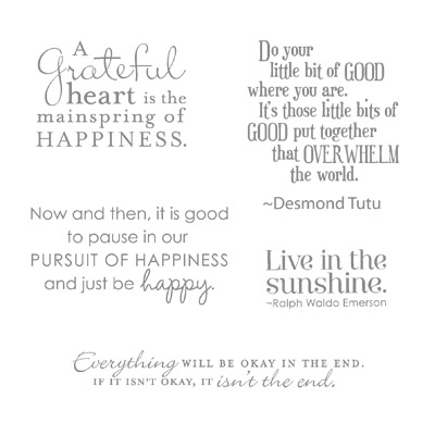 Pursuit of happiness stampin up stampin up card ideas