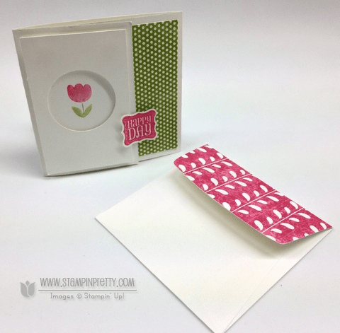 Stampin up stampinup stamp it pretty order catalog circle punch card ideas
