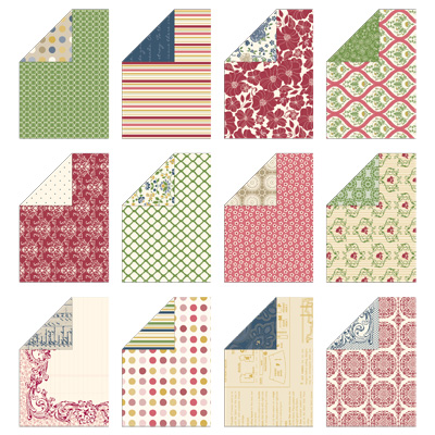 Designer series paper print poetry stack stampinup stampin up card ideas