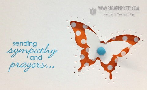 Stampin up demonstrator video tutorial stampinup pretty order online butterfly punch spring catalogs