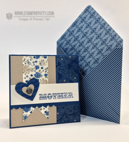 Stampin Up Amazing Family Scallop Edge Border Punch Love & Friendship Card Ideas Holiday Cards & Ideas Mary Fish Stampin Pretty Stampinup Demonstrator Blog