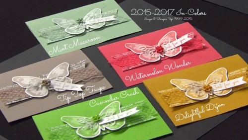 stampin up in colors stampinup stamping up mary fish