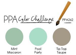 Pals Paper Arts Color Challenge PPA 262