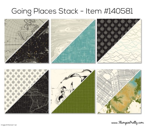 Stampin Up Going Places Designer Series Paper