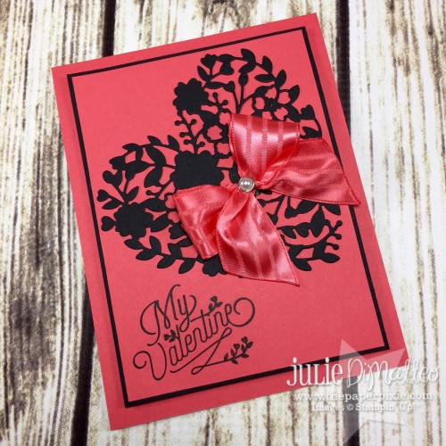 Pals Paper Crafting Card Ideas Bloomin' Valentine Mary Fish Stampin Pretty StampinUp
