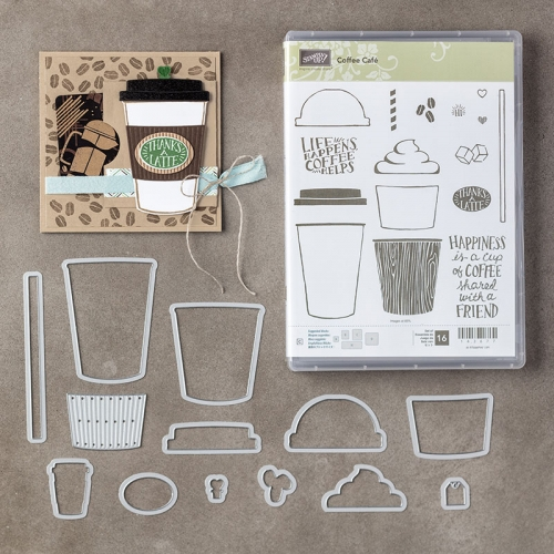 Stamps Stampin Coffee