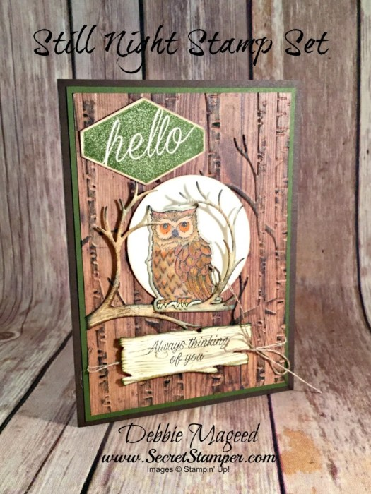 Pals Pick of the Week Debbie Mageed. Mary Fish, Stampin' Pretty