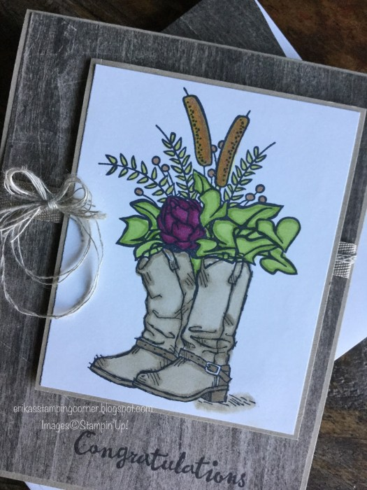Pals Pick of the Week Erika Rodriquez. Mary Fish, Stampin' Pretty